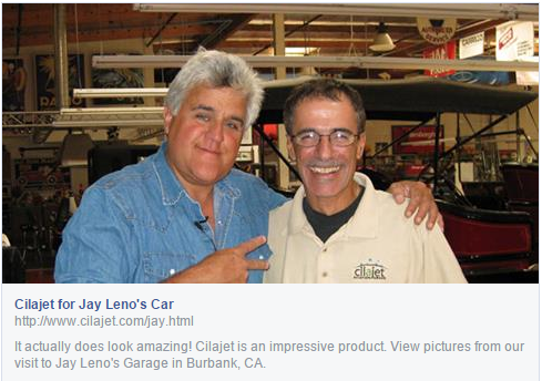 Cilajet Review - Jay Leno
